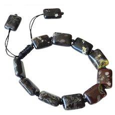 Tiger Iron Bracelet, adjustable