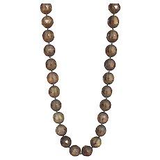 """Smoky Quartz 18"""" Gemstone Necklace"""