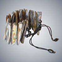 Mother of Pearl Shells Bracelet