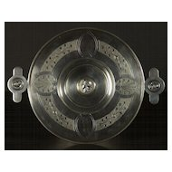 A fine and unusual American Renaissance revival Medallion silver plated calling card stand, probably New York City, circa 1868