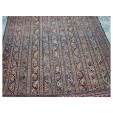 Original Antique Persian Bakhtiari rug, Pasely design, Moharramat , 19th century