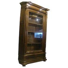 Monumental one of a kind huge antique French book case circa 1880, from Steve Mcqueen Estate