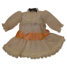 "Victorian Style Dress Set for 10/11"" Doll"