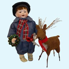 "Antique Kestner 12"" Toddler Doll Rare #235"