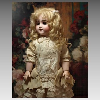 Beautiful Antique French DEPOSE Bebe-Lovely Dress-Antique Shoes ♥♥