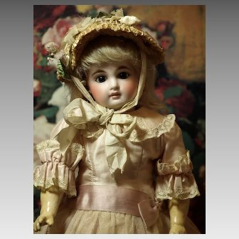 "German Belton Antique Doll -Adorable Cabinet Size -14"" (35.56 cm) ♥♥"