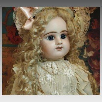 SALE PENDING FOR T: Beautiful Antique Etienne Denamur Bebe with Gorgeous Blue Eyes ♥♥