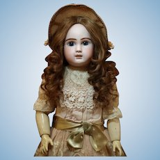 """25"""" Jules Steiner Bebe with Antique Wig , Dress, Shoes ♥♥"""
