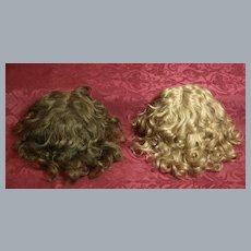 Two Antique Mohair Wigs- Priced @ $48 Each♥♥