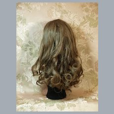 Gorgeous Long and Thick Human Hair Doll Wig ♥♥