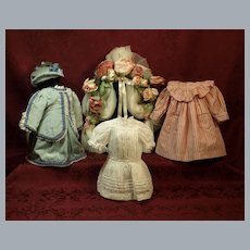 Two out of Three Sold- Smaller Doll-Includes Antique @ $46.00 Each ♥♥
