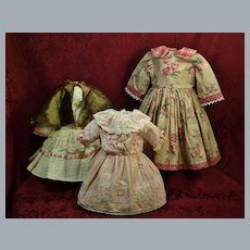 Dress Apparel for Dolls -Four Items-Includes Antique ♥♥