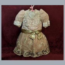A Unique Antique Dress from the 19th Century-A Lovely One Of A Kind Design ♥♥