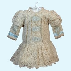 Appealing Ecru Lace Dress One of a Kind ♥♥