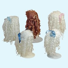 Five Used Artisan Mohair Wigs Includes English Mohair ♥♥