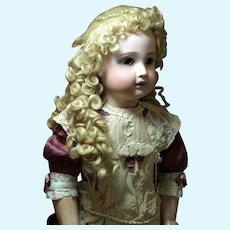 Elaborate Hand Made Mohair Wig-Gorgeous Curls