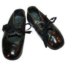 Leather Mary Jane Shoes for Tot c1910