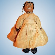Rag Doll with a Happy Face c1890