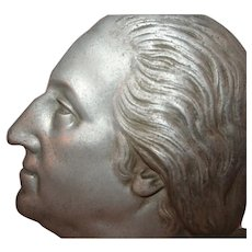 George Washington Zinc Head Study c1932 Bicentennial Advertising Political