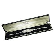 Vintage: Diamond Plaque Bracelet