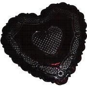 Avon Cape Cod Glass Heart Trinket Box