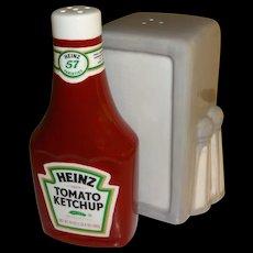 Advertising Heinz Ketchup & Napkin Holder Salt and Pepper Shakers