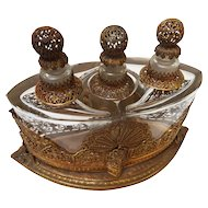 German Ormolu Art Nouveau Perfume Caddy