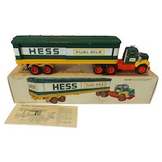1975 Hess Tractor Trailer Battery Operated Truck