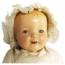 1930's Madame Alexander Composition Crier Baby Doll for Restoration
