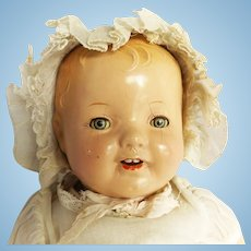 1930's Madame Alexander Composition Crier Baby Doll for Restoration