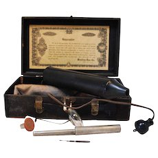 Bleadon and Dun Co. Violet Ray Electrotherapy Set
