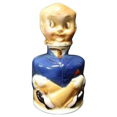Vintage German Porcelain Pa Kettle Ink Bottle