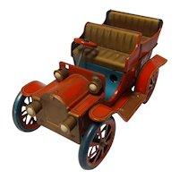 Vintage Modern Tin Toy's Static Model T Touring Car