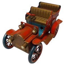 Vintage Modern Tin Toy's Static Model T Touring Car