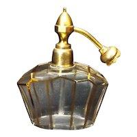 Vintage French Crystal Art Deco Perfume Atomizer