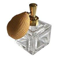 Vintage Cut Crystal Perfume Atomizer