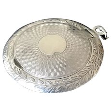 Vintage Watrous Mfg Co Sterling Silver Chatelaine Rouge Pot