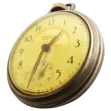 Vintage Working Westclox Pocket Ben Pocket Watch