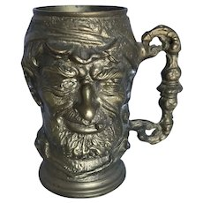 Vintage Brass Half Pint Toby Mug or Tankard
