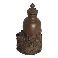 Vintage Carved Stone Dragon Snuff Bottle