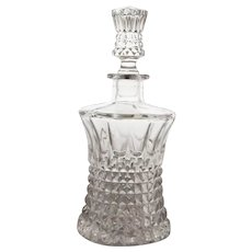 Vintage Gorham Nachtmann Fairfax Lead Crystal Decanter