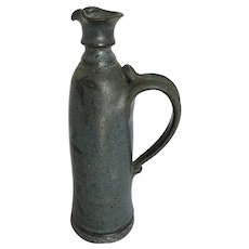 Vintage Salt Glaze Pottery Bottle or Decanter