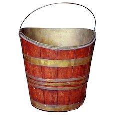 Early Georgian Style Irish Peat Bucket