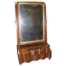 18th Century Queen Anne Shaving Mirror