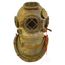 Antique Diving Helmet Mark V Original 1918 US Navy