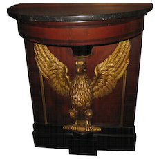 19th c. American Federal Console Table