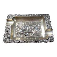 Silver(.833/1000) Dutch Hallmarked Repose Ashtray 1929