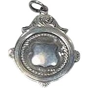 English Sterling Silver Trophy/Fob/Charm/Pendant