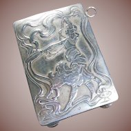Sterling Silver (925/1000) Keepsake/Card Pendant Case