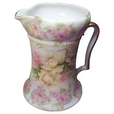 Royal Bayreuth= Bavaria Rose Tapestry Pitcher- Item to be deleted on 2/27/18